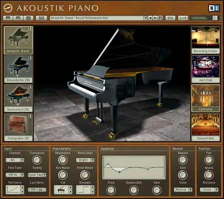 Native Instruments Akoustik Piano Soft Synth