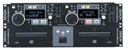 Denon DND4500 Dual DJ CD Player