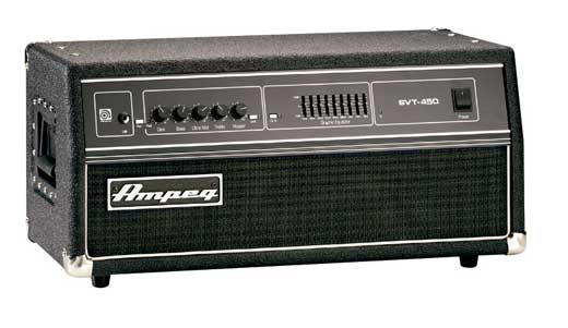Ampeg SVT 450H Bass Guitar Amplifier Head