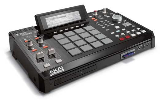 Akai MPC2500 Beat Production Station Sampler
