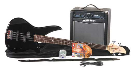 Yamaha GigMaker EB Bass Guitar Package
