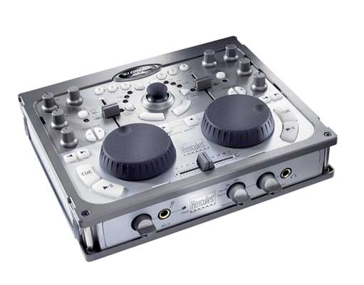 Hercules DJ Console MK2 Control Surface with Audio Interface