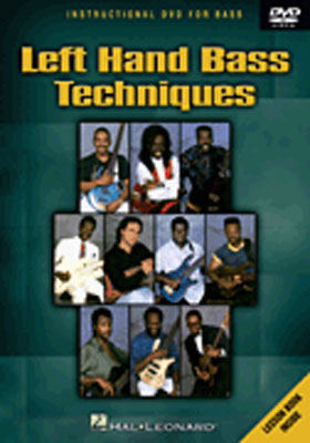 Hal Leonard DVD Bass Video Lesson Left Hand Bass Techniques