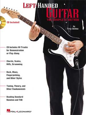 Hal Leonard Left Handed Guitar Complete Method Book and CD