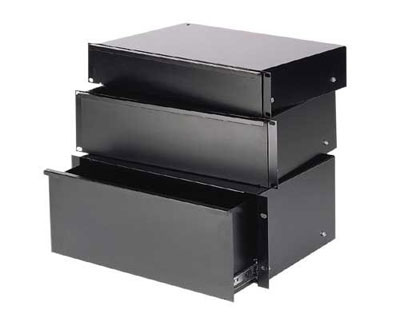 Raxxess ESD Sliding Steel Rack Drawer