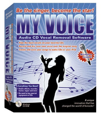 eMedia My Voice Vocal Removal Software