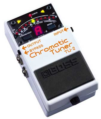 Boss TU2 Chromatic Pedal Tuner