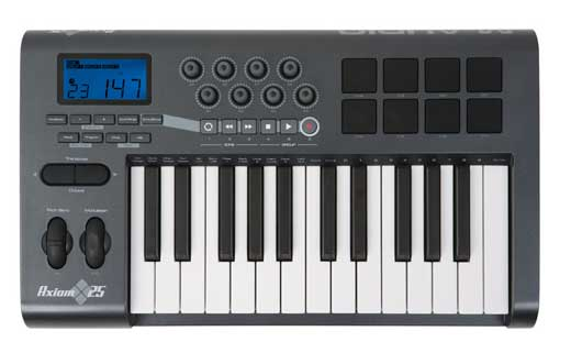 M Audio Axiom 25 MIDI Controller Keyboard