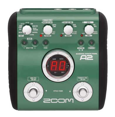 Zoom A2 Acoustic Guitar Effects Processor