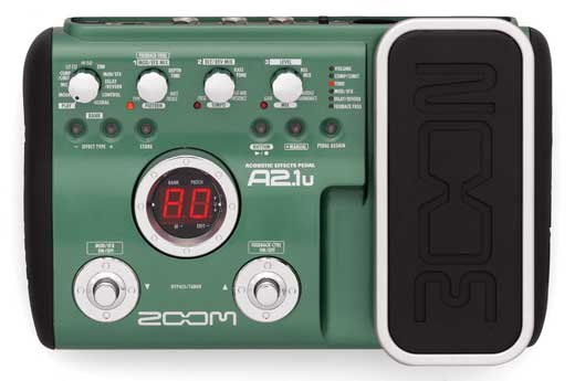 Zoom A2.1u Acoustic Guitar Effects Processor