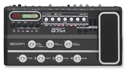 Zoom G7.1ut Guitar Multieffects Pedal