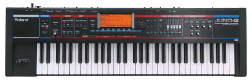 Roland Juno G 61 Key Synthesizer Workstation