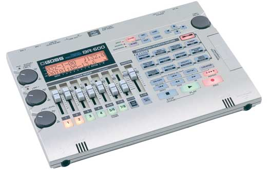Boss BR600 Multitrack Digital Recorder