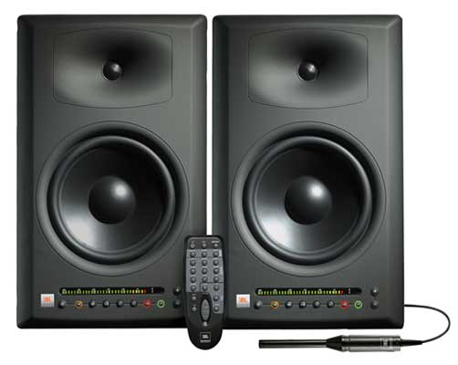 JBL LSR4328P Powered Studio Monitors