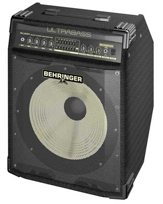 Behringer Ultrabass BXL3000A Bass Guitar Combo Amplifier