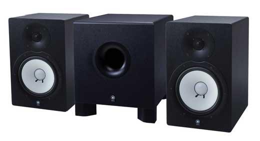 Review yamaha hs80m powered studio monitor for Yamaha studio subwoofer
