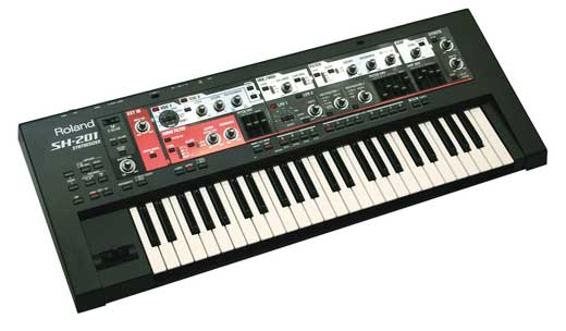 Roland SH201 Synthesizer Keyboard