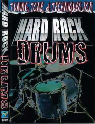 MVP Hard Rock Drum Instructional DVD