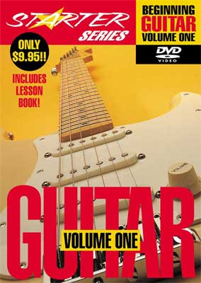 Hal Leonard Beginning Guitar Volume 1 DVD Guitar Lesson