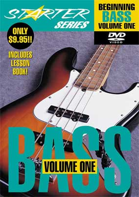 Hal Leonard Beginning Bass Guitar Volume 1 DVD Bass Lesson