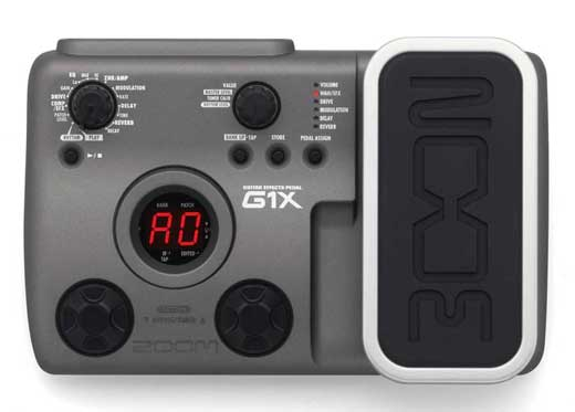 Zoom G1X Guitar Multieffects Pedal