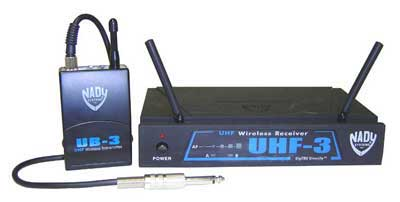 Nady UHF 3 Guitar Wireless System