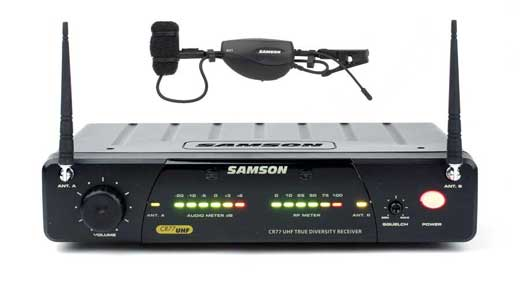 Samson AirLine 77 UHF TD Wind Instrument Wireless Mic