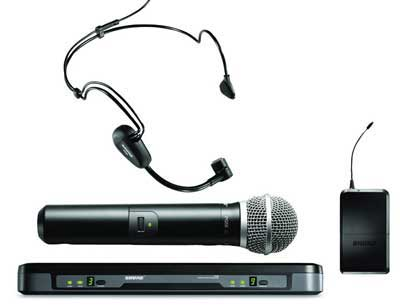 Shure Performance Gear Handheld & Headset Wireless Mic
