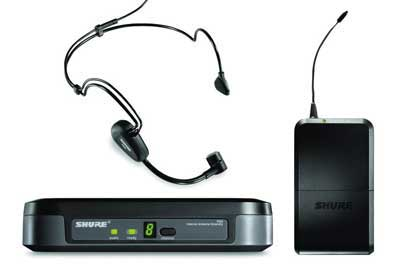 Shure Performance Gear UHF Headset Wireless Mic System