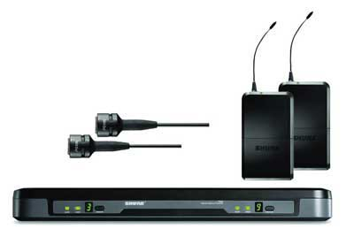 Shure Performance Gear Dual UHF Lapel Wireless Mic System
