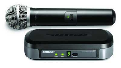 Shure Performance Gear UHF Handheld Wireless PG58 Mic System