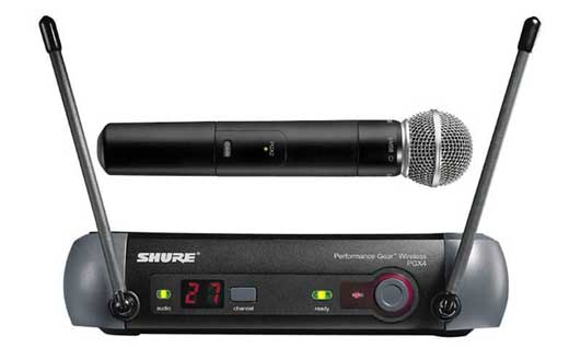 Shure PGX24 UHF Handheld Wireless Mic System with Beta 58