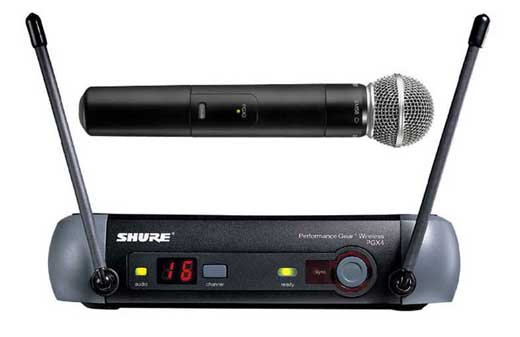 Shure PGX24 UHF Handheld Wireless Mic System with SM58