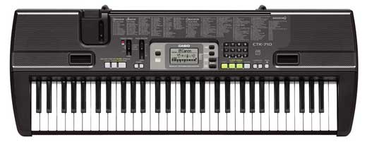 Casio CTK710 61 Key Personal Keyboard