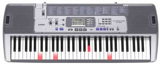 Casio LK100 61 Key Lighted Personal Keyboard
