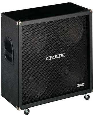 Crate GT412ST 4x12 Straight Guitar Cabinet