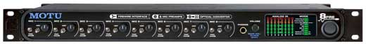 MOTU 8PRE 16x12 FireWire Audio Interface