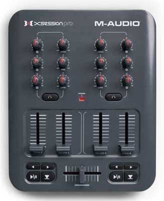 M Audio X Session Pro Mixer DJ Controller