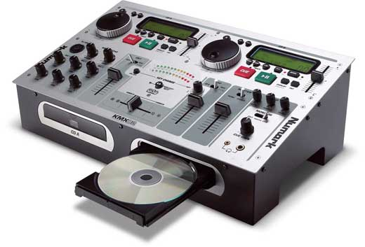 Numark KMX02 Dual DJ Mixer and Karaoke Player