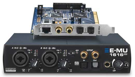 EMU 1616M PCI Audio Interface with DSP