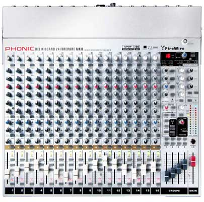 Phonic Helix 24 mkII FireWire Mixer