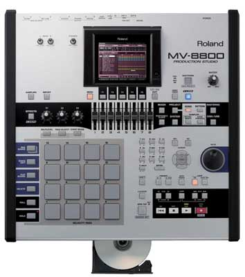 Roland MV8800 Production Studio Sampler