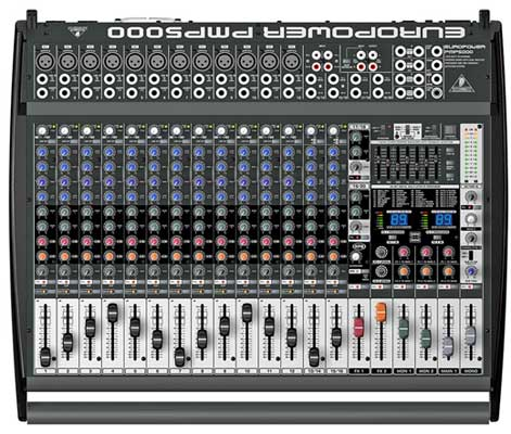 Behringer Europower PMP5000 Powered Mixer