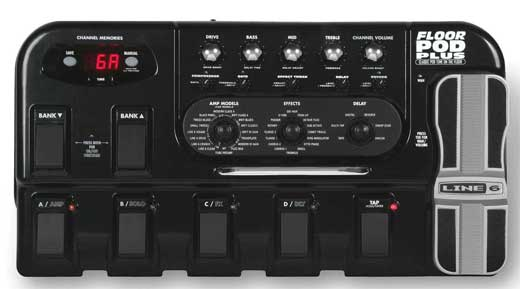 Line 6 Floor POD Plus Guitar Effects Processor