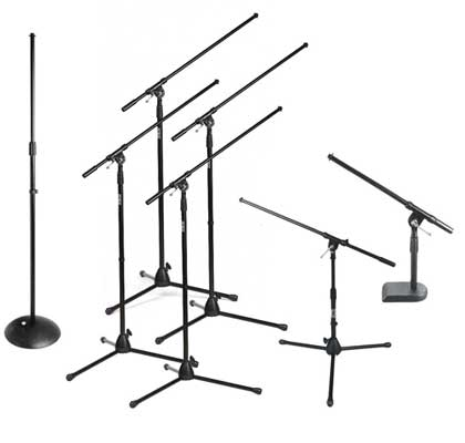 On Stage Stands Club Pack Microphone Stand Package