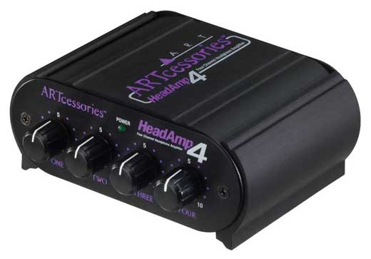ART HeadAmp4 Headphone Amplifier