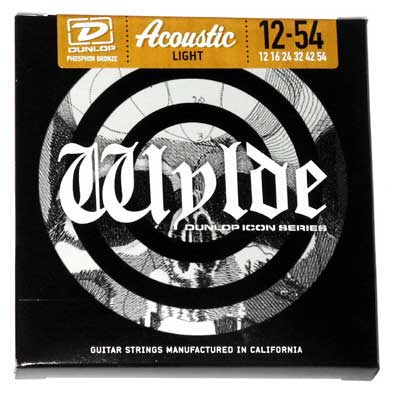 Dunlop ZWA1254 Zakk Wylde Phosphor Bronze Acoustic Strings