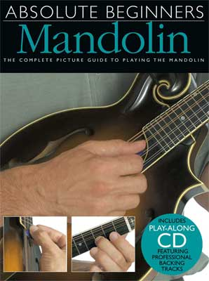 Amsco Absolute Beginners Mandolin Book with CD