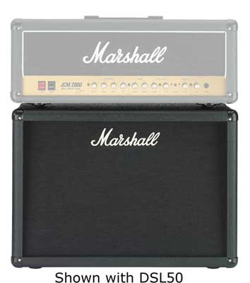 Marshall MC212 2x12 Guitar Speaker Extension Cabinet