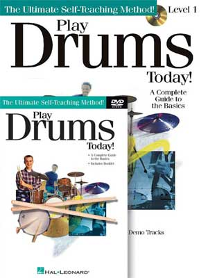 Hal Leonard Play Drums Today Beginners Package